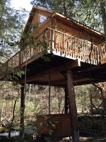 Morrison's Treehouse Getaway - Pikeville - Casa na árvore