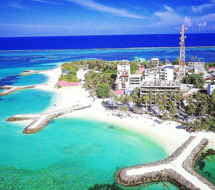 ROOMS FROM MAAFUSHI ISLAND, MALDIVES