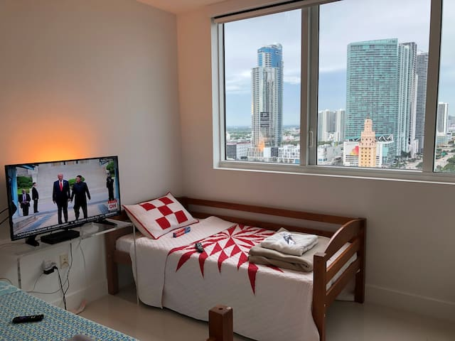 LUXURY HIGH RISE CONDO_{ BED # 2 }_for:$50 dollars