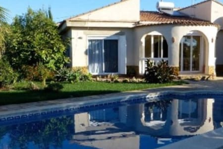 Quiet villa in the middle of orange & olive trees - Montroy - Vila