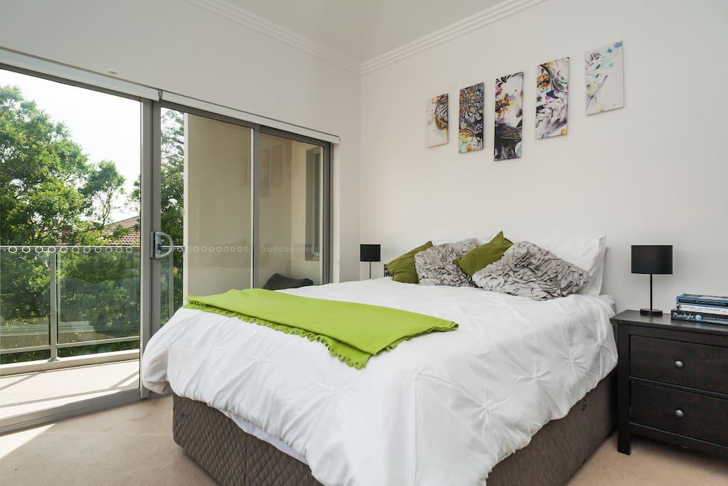 Bedroom + Balcony 2