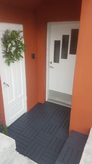 Door inside