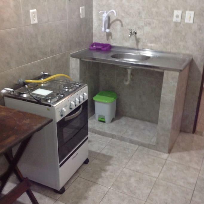Cozinha do kitnet