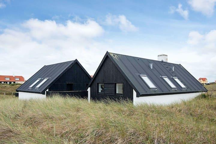Exotisches Ferienhaus in Jütland in Meeresnähe
