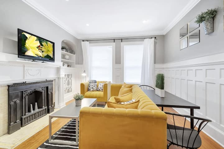Comfy and Cozy Rittenhouse Retreat - Steps from the Park!