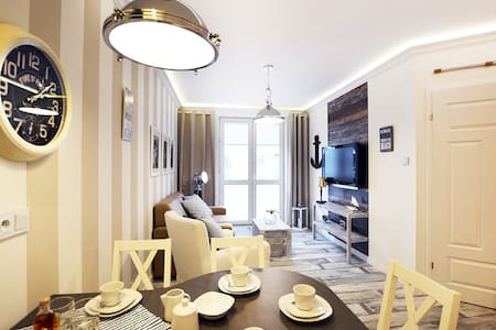 Apartament Skandynawski z garażem - Appartement