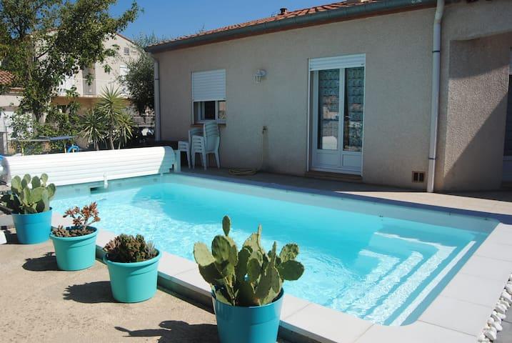 Charmante Villa avec piscine entre mer et montagne - Maureillas-Las-Illas
