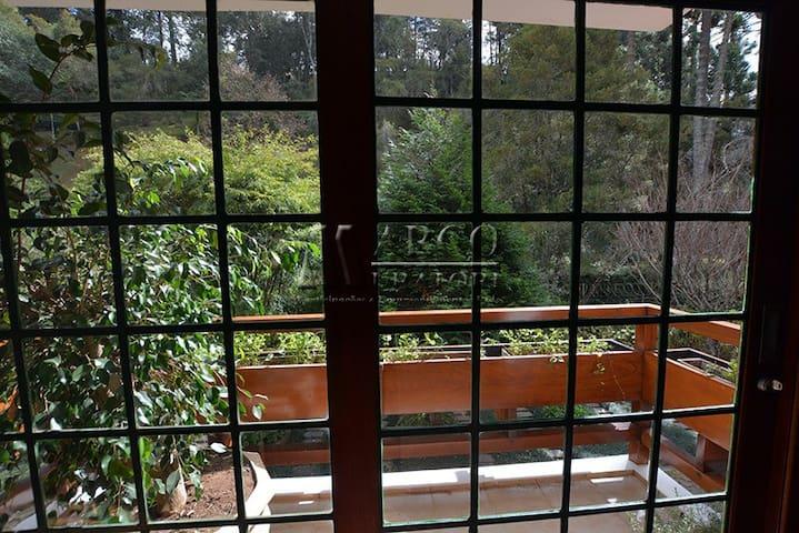 Vista da varanda da sala