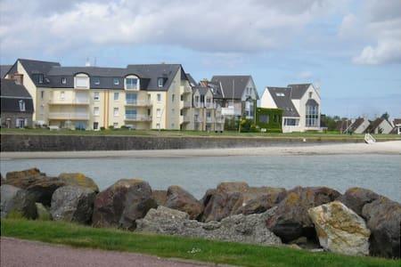 Normand charming sea front apartment - Saint-Vaast-la-Hougue