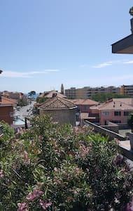 200m dalla spiaggia,vista mare,bilocale 4 posti - San Lorenzo al Mare