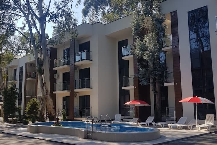 Новый апарт на берегу Сочи в лучшей локации отдыха