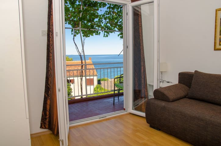 Apartment 2 with a sea view in Gradac, Dalmatia - Gradac - Pis