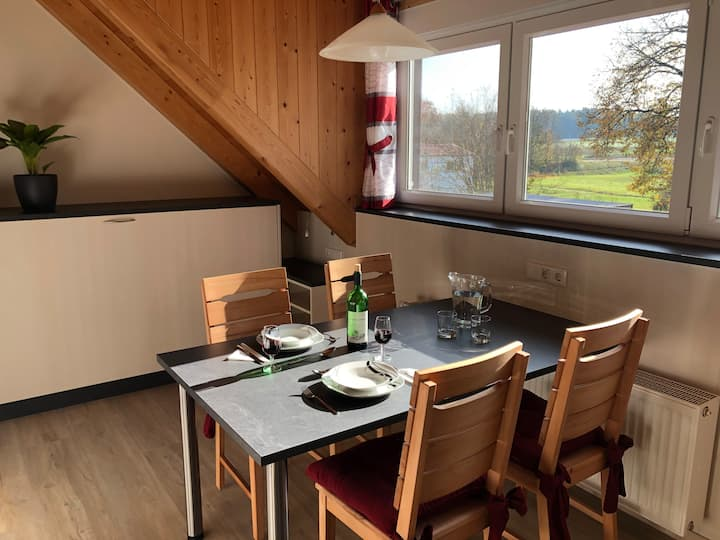 Neue Suite im Grünen, Fränkisches Seenland
