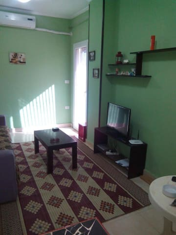Flat in complex with swimming pool+ free beach
