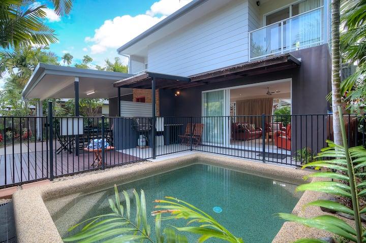 Modern standalone villa with private pool