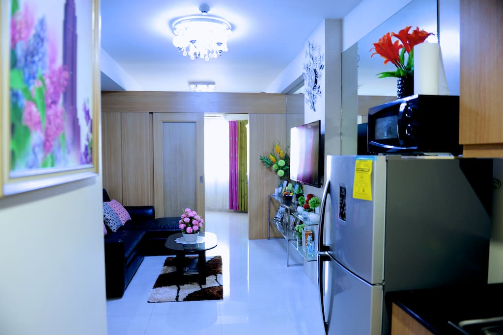32sqm fully furnished with one bed room
