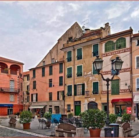 Casa Eve Finalborgo - 6 pladser i hjertet af landsbyen