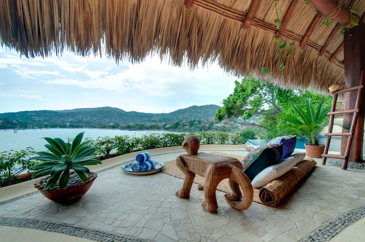 Exclusive luxurious mexican inspired suite