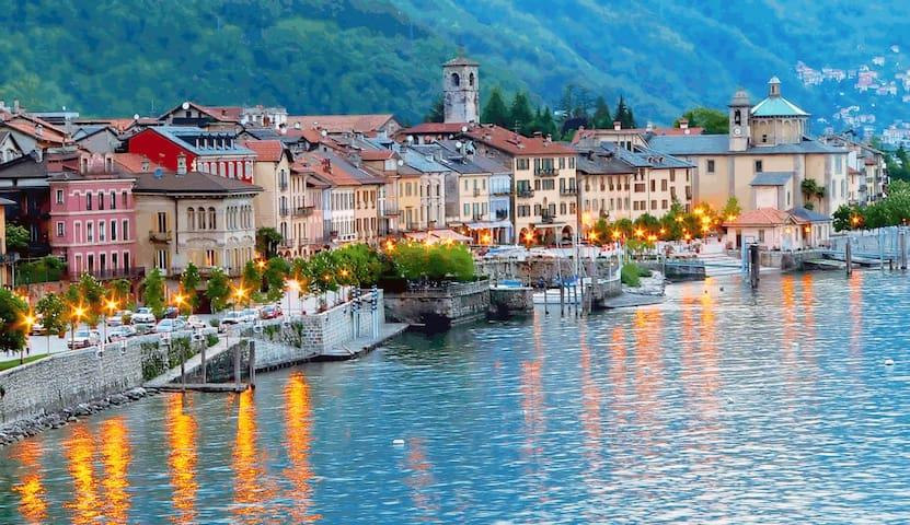 Sunny Apartment on the Lake Maggiore