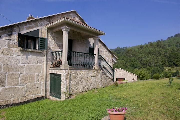 Vivienda de uso turístico en Sabaxáns (Mondariz).