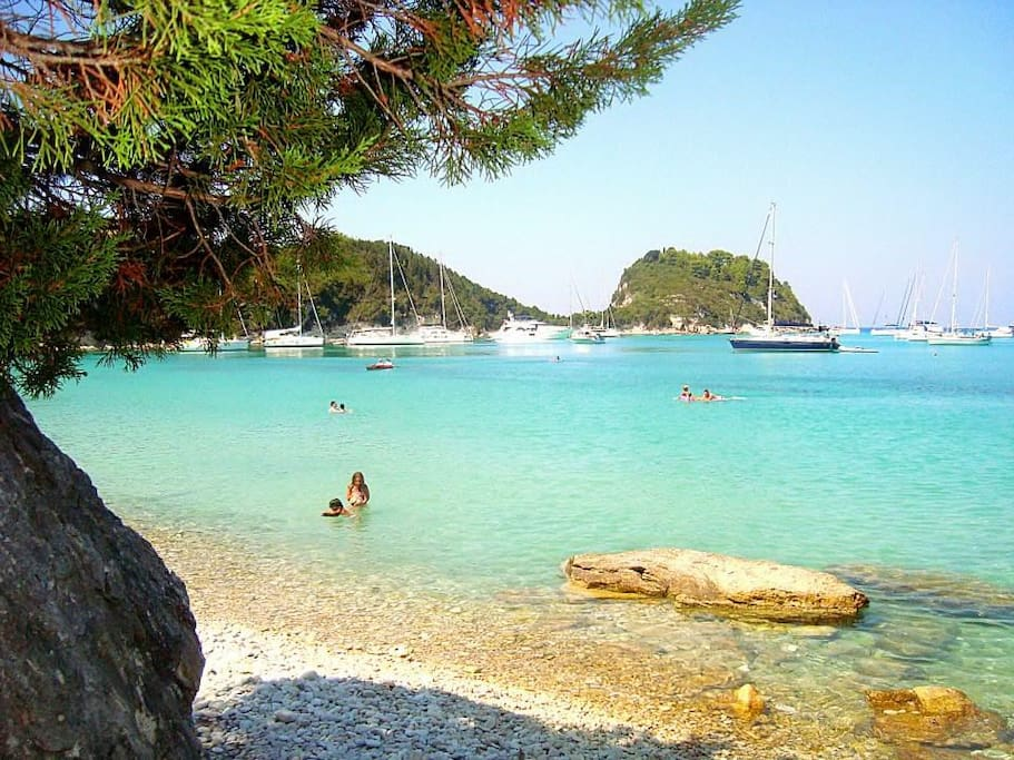 Lakka Bay for special vacation!!
