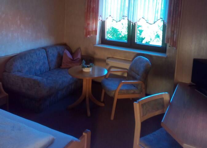 Gasthaus Adler, (Sinsheim), Einzelzimmer mit Dusche und WC