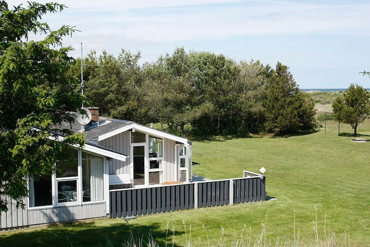 Plush Holiday Home in Jerup with Swimming Pool