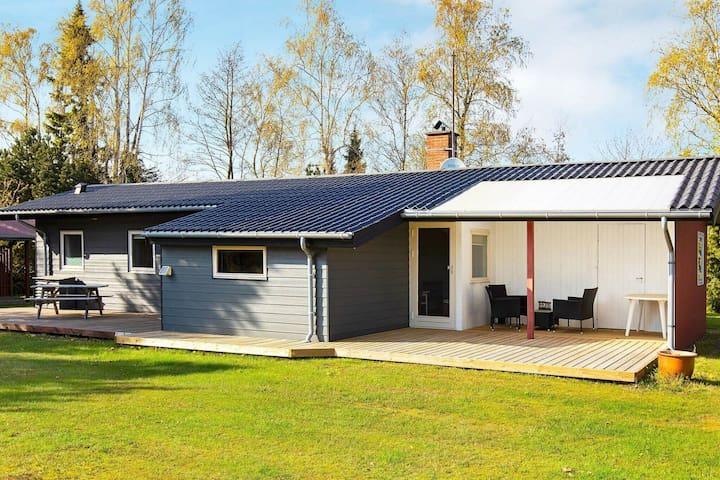 Modern holiday home in Væggerløse near market
