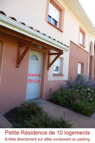 Maison Oli-Lia - Mondonville - Apartamento