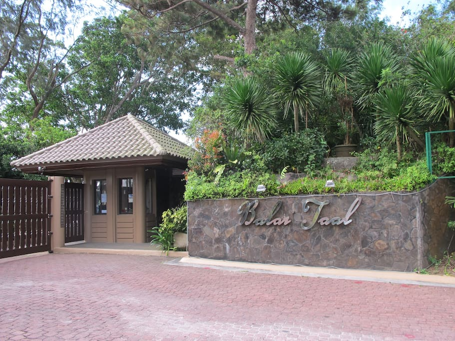 Entrance to Balai Taal Property