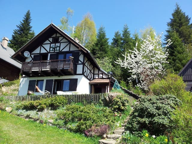 Little-wooden-getaway-mountainhouse - Frajhajm - Haus