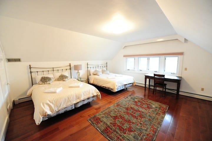 Chic quiet room 1 (Near BU/Downtown/Fenway/HMS)