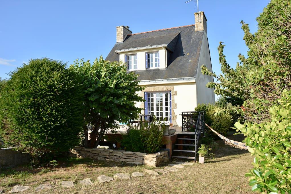 maison typique 600 m des plages houses for rent in saint gildas de rhuys bretagne france. Black Bedroom Furniture Sets. Home Design Ideas