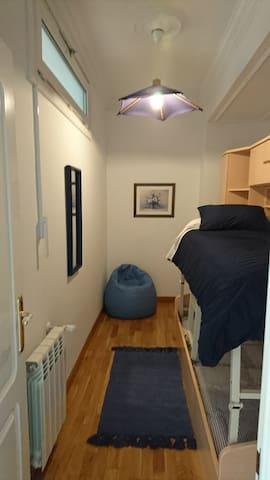 Habitación 2,literas,se puede poner una cama sola.
