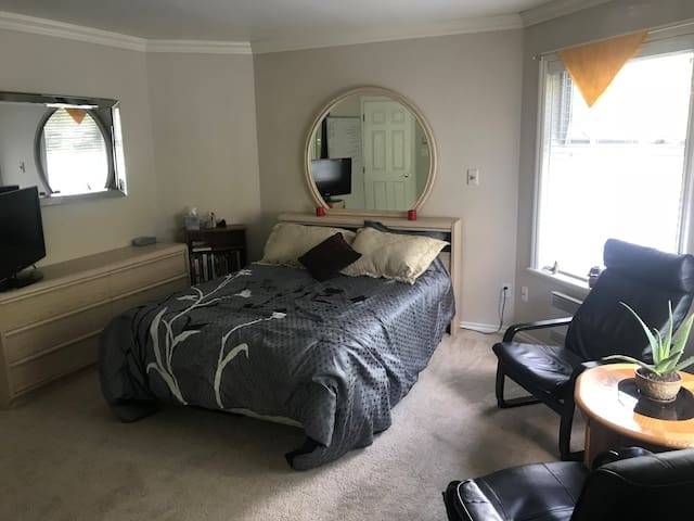 Master bedroom in a Modern & fancy house Victoria