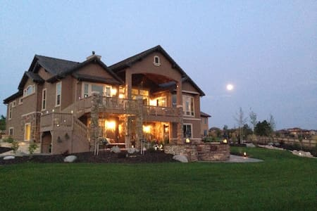 Golf Course Estate near Air Force Academy - Colorado Springs