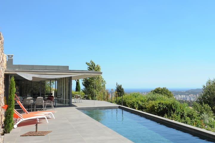 Villa Architecte de Renom  (MUCEM) - Ollioules - Casa