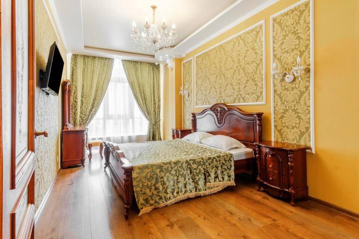 Golden Arcadia Apartment ❤ 450m Sea   Transfer 10€