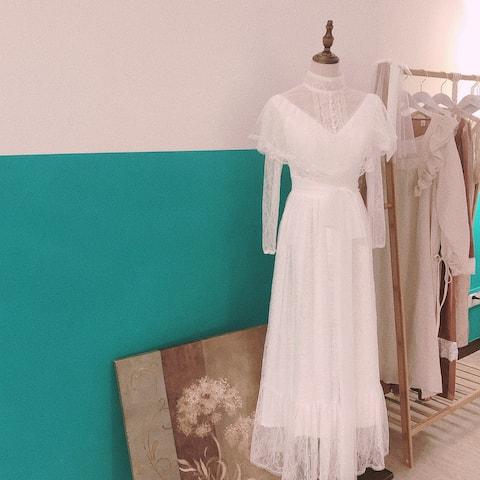 【拾壹】法式民宿🏨 好拍到哭的房间,为拍照而生的民宿!复古婚纱✅法式小裙子✅头饰✅耳饰✅