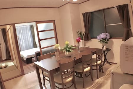 3 bedroom Family room next to Hiroshima Sta. #203
