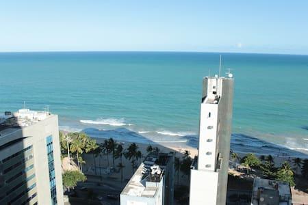 Boa Viagem - Conforto e bem-estar a 1 qd da praia - Recife