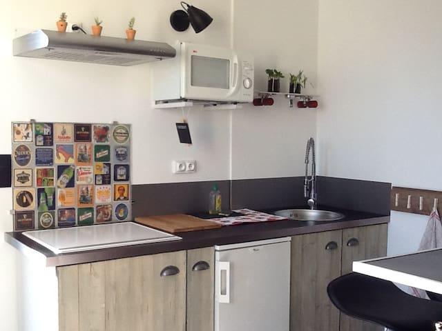 Bel appartement avec grande terrasse - Portes-lès-Valence - Daire