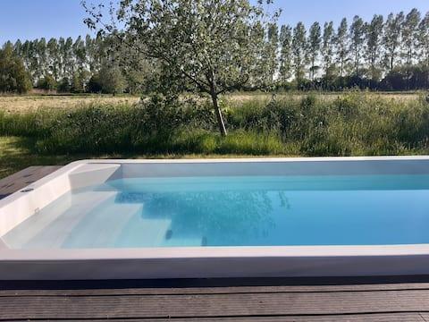 Wellnessvilla met prive zwembad, jacuzzi en sauna