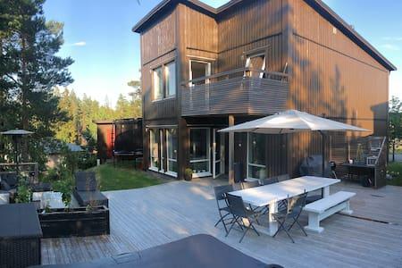Modern villa & närhet till naturen