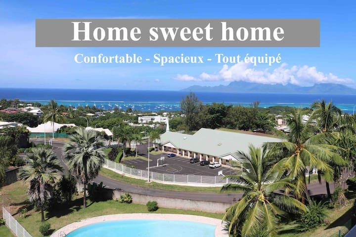 LAGOON VIEW APARTMENT fully equipped - comfortable