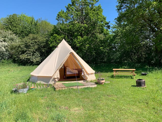 Oxford Bell Tent for those too posh to pitch