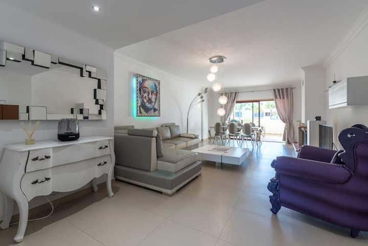 Villa-appart haut de gamme et calme à Vilamoura