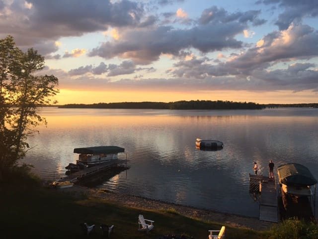 320' of Shore.  Detroit Lakes - Pontoon Available