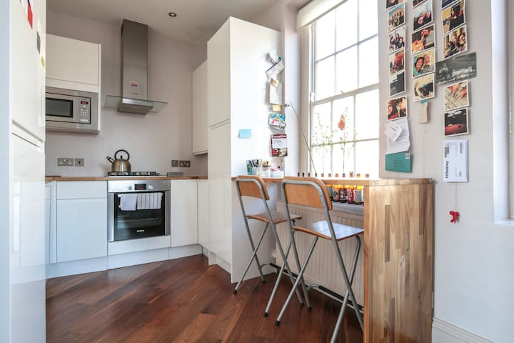 Bright flat with TERRACE in Hackney - London - Apartment