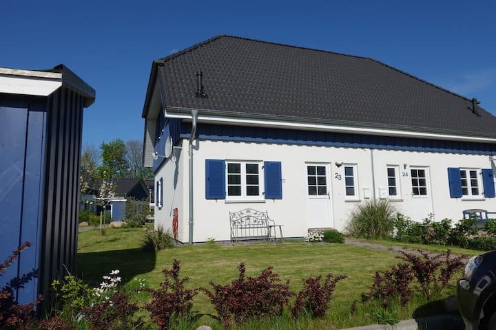Altefähr - Seebad  auf Rügen am Strelasund